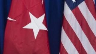 The Turkish and the US embassies issued virtually identical statements