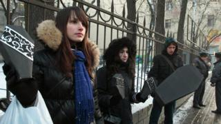 Протесты противников абортов