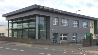 St Kentigern's Academy in Blackburn Pic: John Easton