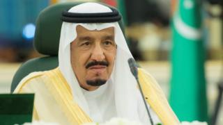 Saudi Arabia's King Salman, pictured earlier this month