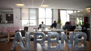 Air Bnb sign