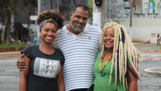 Laudicéia Reis Silva dos Santos, Marco Davi e Evelyn Daisy