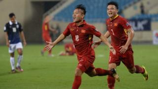 Việt Nam đánh bại Campuchia 5-0 trên sân Mỹ Đình ở bảng C vòng loại Asian Cup 2019
