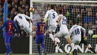 Sergio Ramos equalizes for Real Madrid