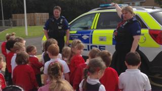 Pupils at Haydonleigh Primary School, Swindon