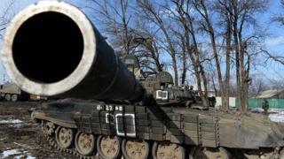 танк сепаратистів
