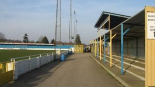 Basingstoke Town FC ground