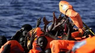 قارب هجرة غير شرعية
