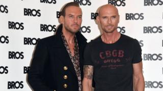 Matt and Luke Goss