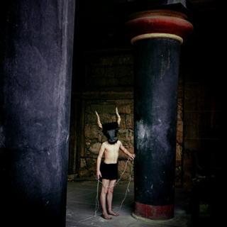 Young Minotaur by Panos Skordas