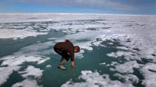 สภาพภูมิอากาศที่อุ่นขึ้นผิดปกติมีผลไปทั่วโลก รวมทั้งในแถบขั้วโลกเหนือด้วย