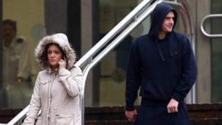 Katherine Cox and Danny Shepherd at Maidstone Crown Court