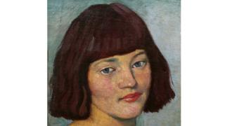 Portrait of Eileen Henry by John Currie