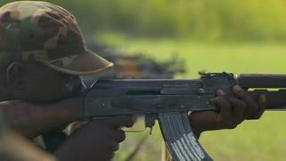 Ugandan soldier in South Sudan