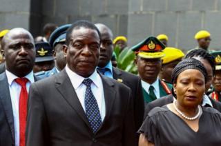 Makamu wa rais wa Zimbabwe Emmerson Mnangangwa