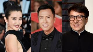Li Bingbing, Donnie Yen and Jackie Chan