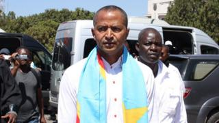 Opposition figure Moise Katumbi in Lubumbashi on 13 May