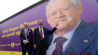 Roger Helmer with Nigel Farage