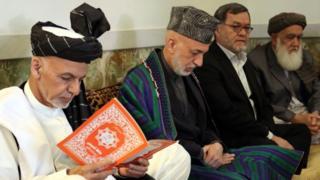 افغان ولسمشر غني په ټول افغانستان کې ملي ماتم اعلان کړی دی. نن په ارګ کې د فاتحې مراسم هم ترسره شول.