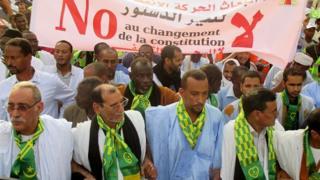 Les manifestations contre la révision constitutionnelle sont devenus fréquentes
