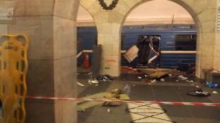 Ledakan di St Petersburg