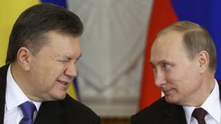 Виктор Янукович, Владимир Путин