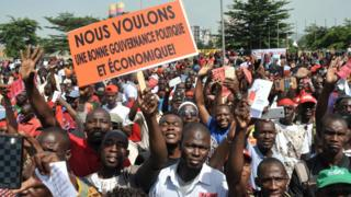 manifestation Bamako