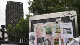 Grenfell tower and missing posters