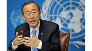Katibu Mkuu wa Umoja wa Mataifa, Ban Ki Moon