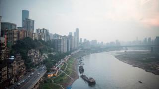 중국 서부의 중심도시 충칭