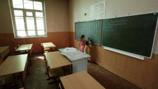 Школа в Южной Осетии, 2008 год