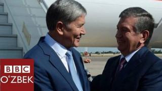 Shavkat Mirziyoyev va Atambayev