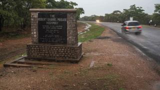 Les routes au Zimbabwe ne sont pas toujours en bon état