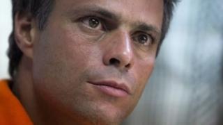 Leopoldo López yahora pafungiye muri sentare ya gisirikare