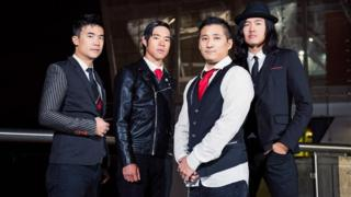 The Slants stone band