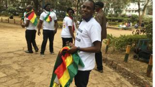 Waandamanaji wanataka mabadiliko ya uongozi nchini Zimbabwe.
