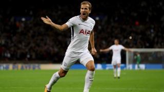 Mshambuliaji wa Tottenham Hotspurs Harry Kane