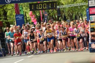 Women's 10k competitors