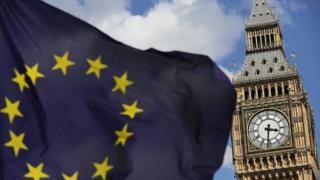 EU flag and Big Ben