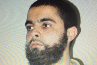 Undated picture obtained on March 23, 2018 shows Redouane Lakdim, who authorities have named as attacker responsible for deaths of three people in southwest France