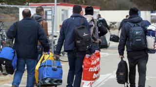 Hollanda'da sığınmacılar