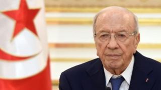 Rais wa Tunisia Beji Caid Essebsi