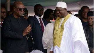 adama barrow, diplomatie, gambie, liberia, sierra léone, ghana