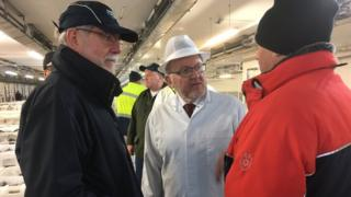 David Mundell meeting fishermen