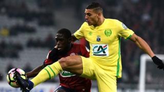 L'attaquant Yacine Bammou a lancé vendredi le FC Nantes sur la route du succès face à Dijon.
