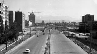 Бишкектеги Правда көчөсү.