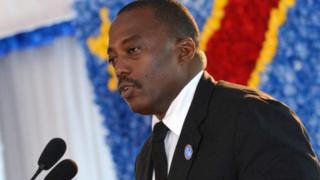 Le président Kabila a dit n'avoir pas promis la présidentielle pour cette année.