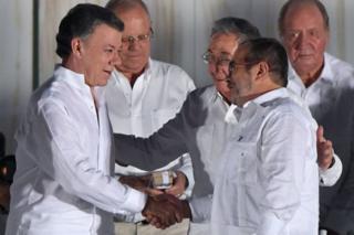 طرف های مذاکرات صلح در هاوانا