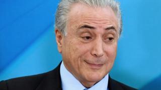Michel Temer durante evento em Brasília