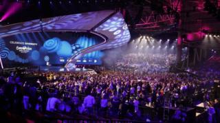 сцена Євробачення в Києві